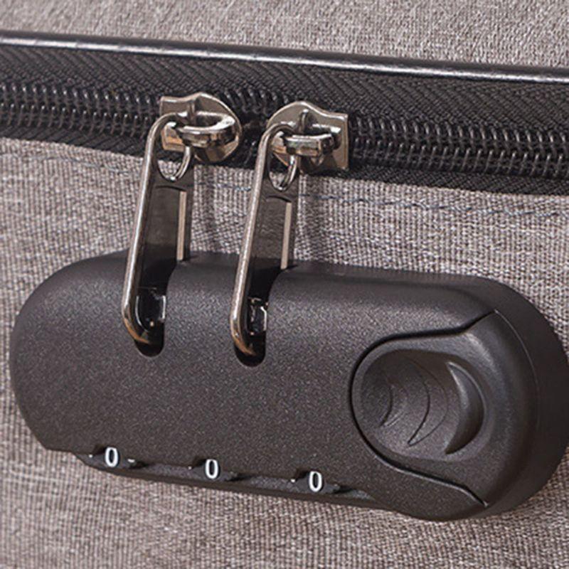 arcadia.zone Canvas Documents Organizing Padfolio With Combination Pad Lock