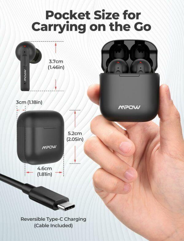 X3 True Wireless Active Noise Cancelling Earphones 4