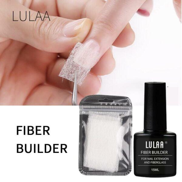 Nail Extension Silk Fiberglass 1