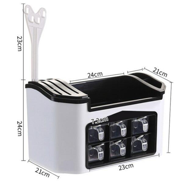 Kitchen Storage Rack Spice Box 6
