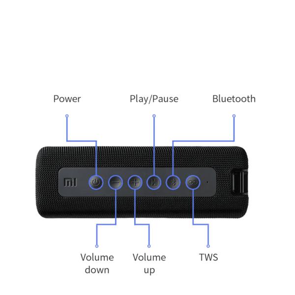 Portable Bluetooth Waterproof Speaker 3