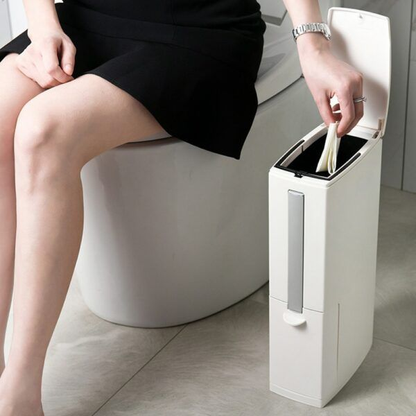 Multi-function Trash Can 1