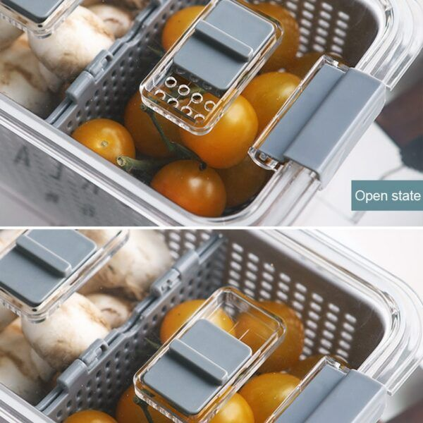 Fresh Produce Vegetable Fruit Storage Containers 4