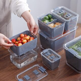 Fresh Produce Vegetable Fruit Storage Containers 1