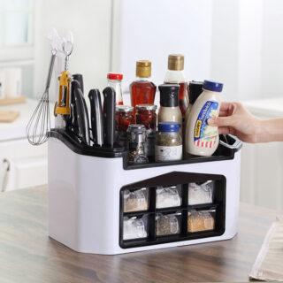 Kitchen Storage Rack Spice Box 12