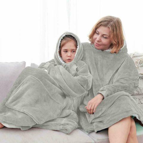 Oversized Comfy Blanket Hoodie 5