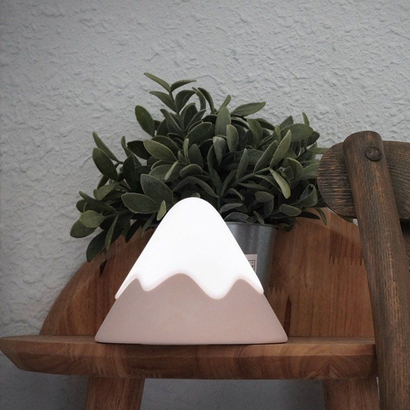 arcadia.zone Snow Mountain LED Night Light