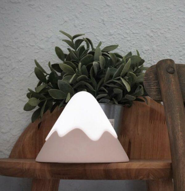 Snow Mountain LED Night Light 2