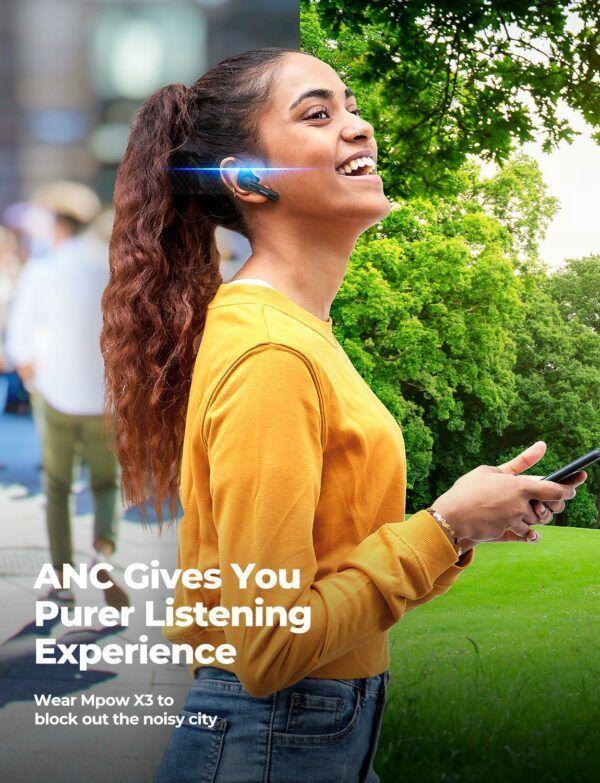 X3 True Wireless Active Noise Cancelling Earphones 6