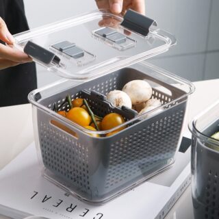 Fresh Produce Vegetable Fruit Storage Containers 2