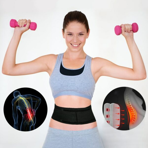 Self-heating Magnetic Back Support 14