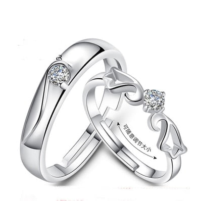 Endless Love Couple Rings 5