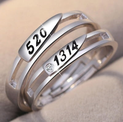 Endless Love Couple Rings 6