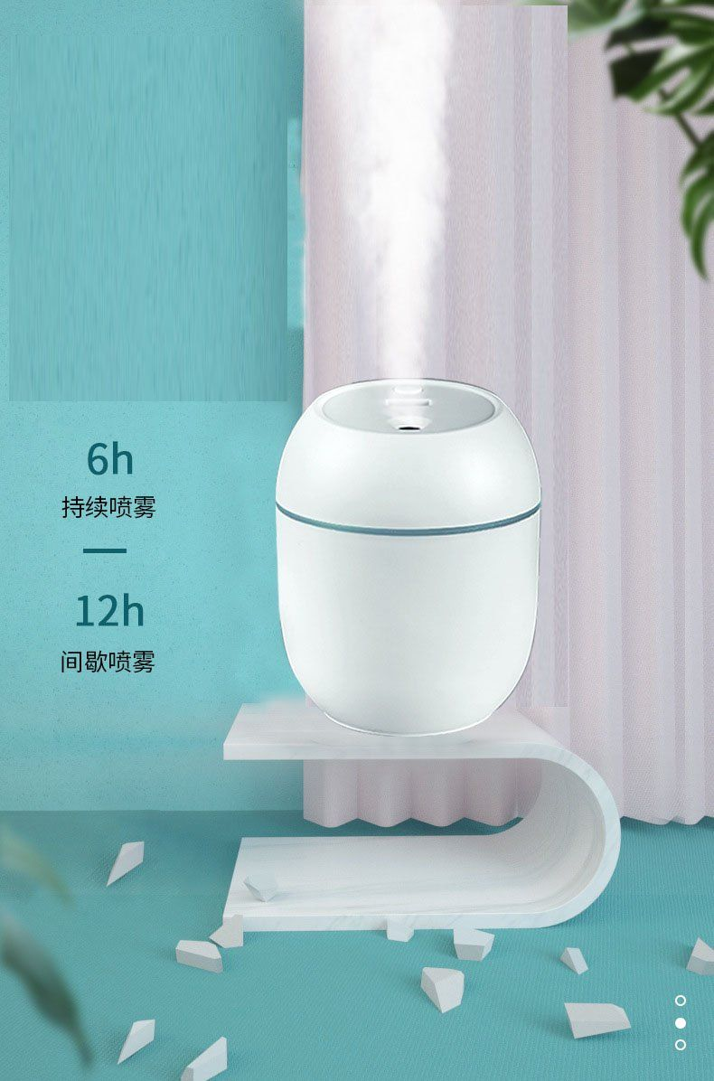 arcadia.zone Mini Night Lamp Air Humidifier