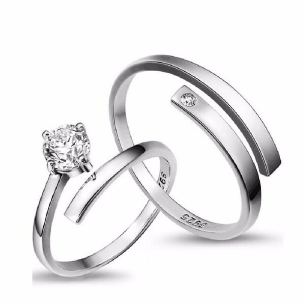 Endless Love Couple Rings 4