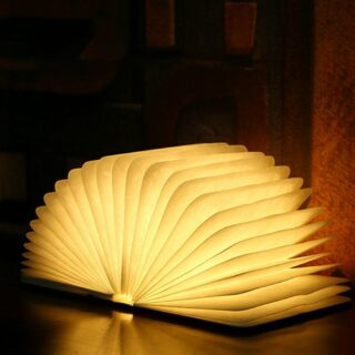 Foldable LED Book Lamp 1