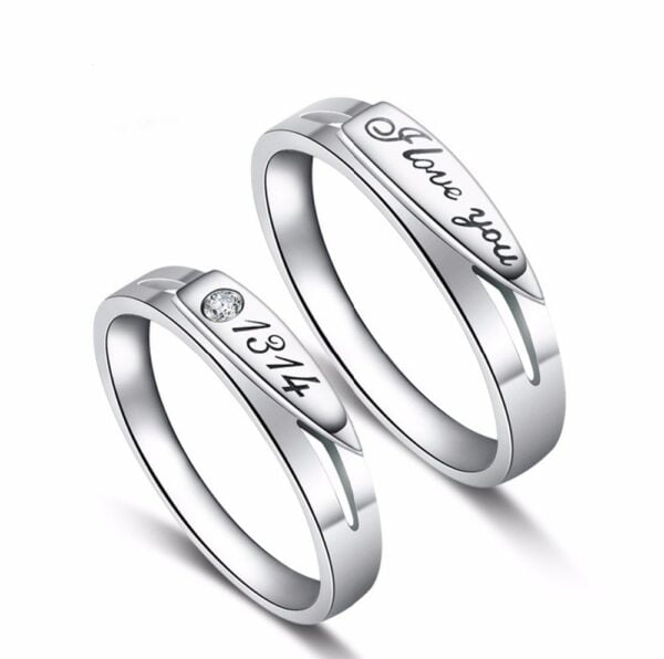 Endless Love Couple Rings 3