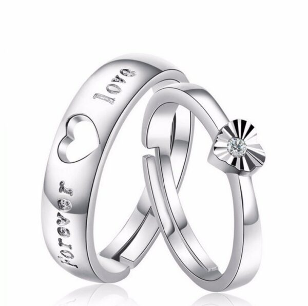 Endless Love Couple Rings 2