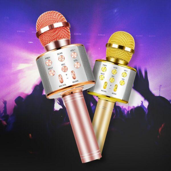Wireless Bluetooth 3-In-1 Karaoke Mic Speaker 6