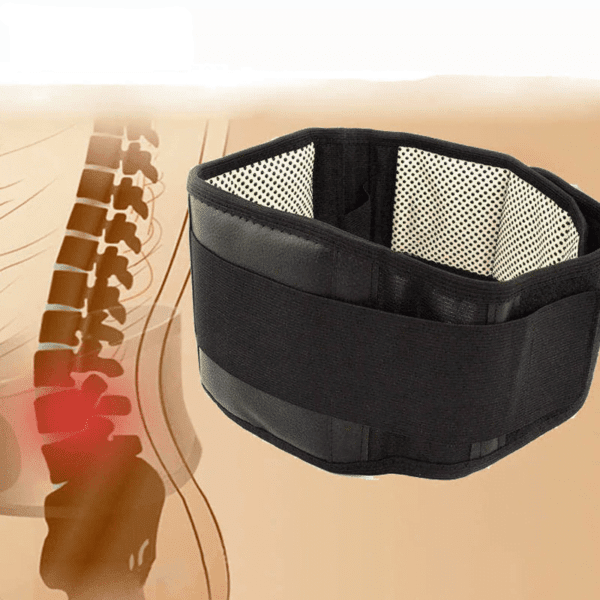 Self-heating Magnetic Back Support 2