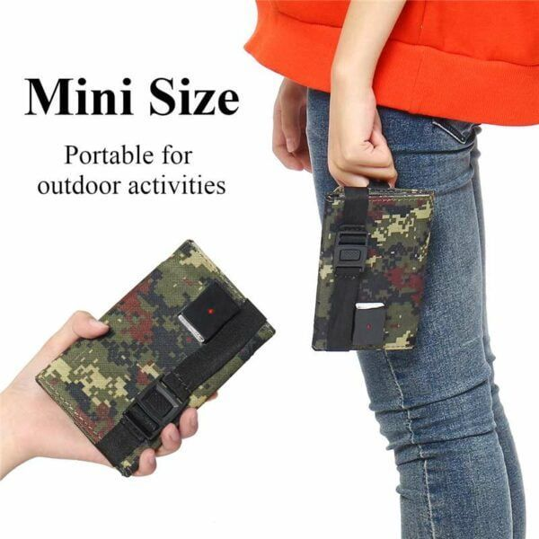 Solar Powered Foldable USB Phone Charger 4
