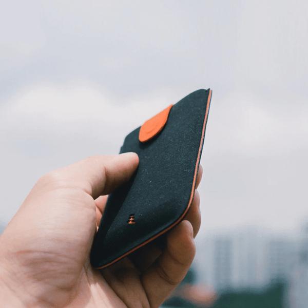 Leather Card Holder Wallet 1