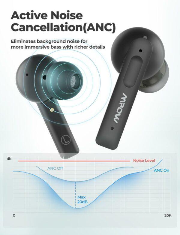 X3 True Wireless Active Noise Cancelling Earphones 3