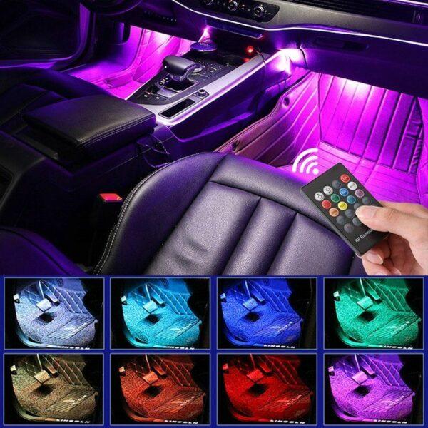 LED Atmosphere Car Lights 1