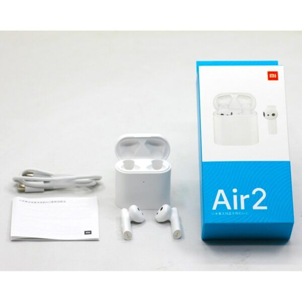 Xiaomi Airdots Pro 2 Air 2 TWS Bluetooth Headset 2 Mi True Wireless Earphone 2 Smart Voice Control LHDC Tap Control Dual MIC ENC 6