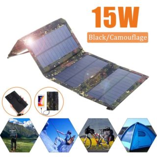 Solar Powered Foldable USB Phone Charger 1