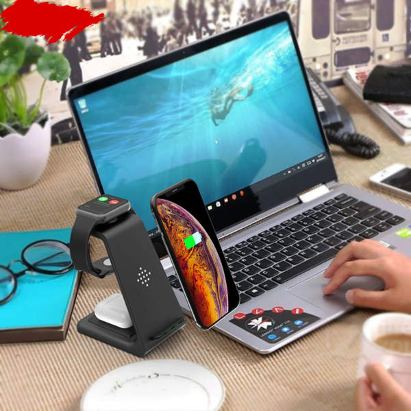 3 in 1 Wireless Charger Station 6