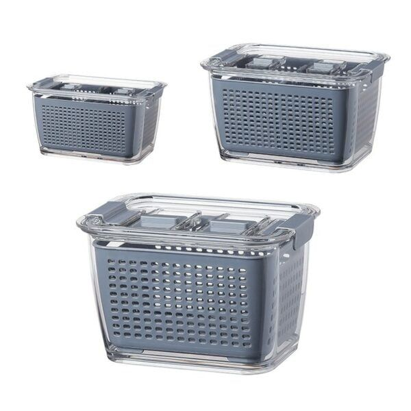 Fresh Produce Vegetable Fruit Storage Containers 6