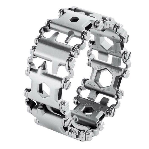 29 In 1 Multi-Tool Wearable Stainless Steel Bracelet 9